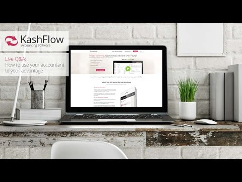 Kashflow: Accountants as first port of call for financial advice