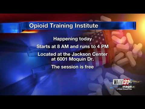 Alabama Opioid Training Institute In Hunsville