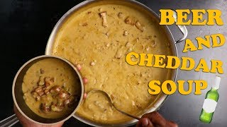 Beer and Cheddar Soup   Recipe    Food & Wine