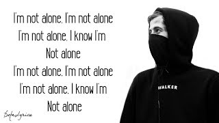 Gambar cover Alone - Alan Walker (Lyrics)