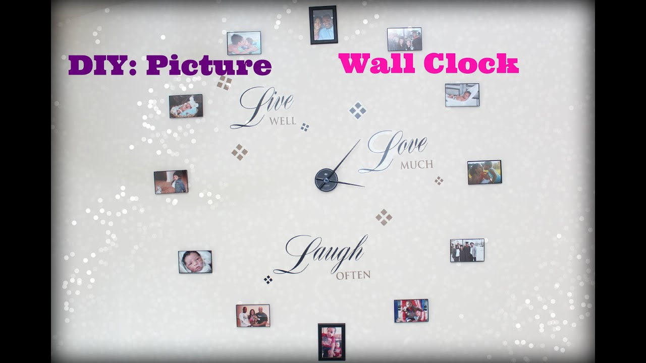 DIY: Picture Frame Clock   YouTube