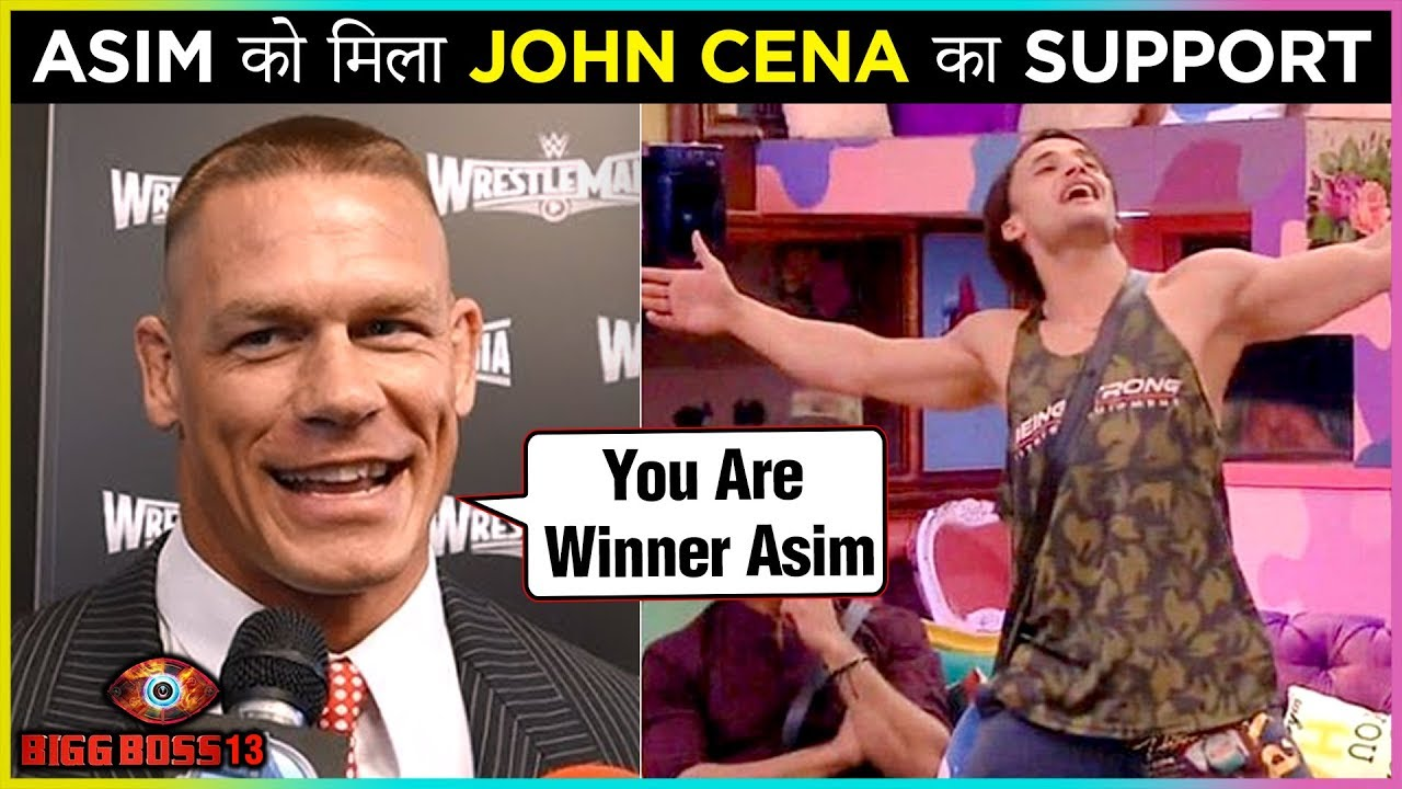 Image result for BB13: International team supports Asim Riaz after John Cena
