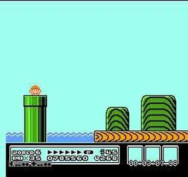 Super Mario Bros Chaos Control world 6_2 |