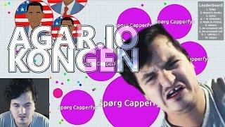 Kongen af Agar.io! - Casper Spiller