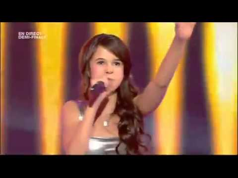 Marina Dalmas - Firework (Katy Perry) - Semi Final Europe's Got Talent