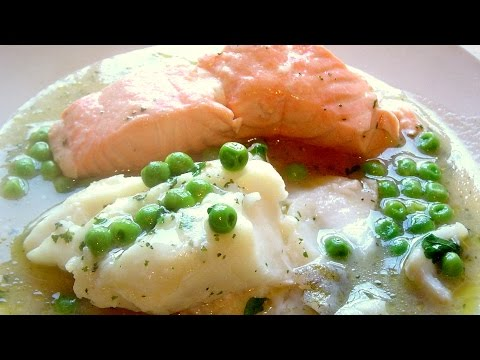Fish In Sauce How To Make Healthy Recipe Cod Salmon