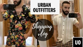 Urban Outfitters Men's Summer 2019 Shopping VLOG and try on haul