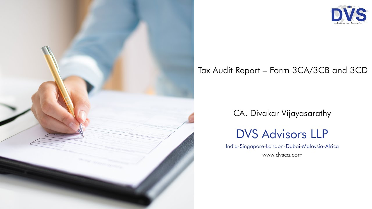 Download What is Form 3CA/3CB and 3CD