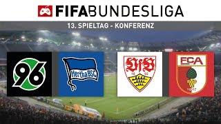 FIFA-Bundesliga   Konferenz #H96BSC #VFBFCA (13. Spieltag)   FIFA 19