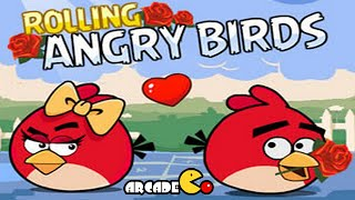 Angry Birds - Rolling Angry Birds Lover Rescue Compleate levels Walkthrough