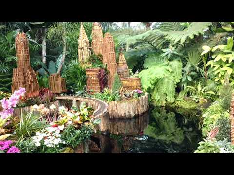 Holiday Train Show NYC Botanical Garden,12/14/2017 - YouTube