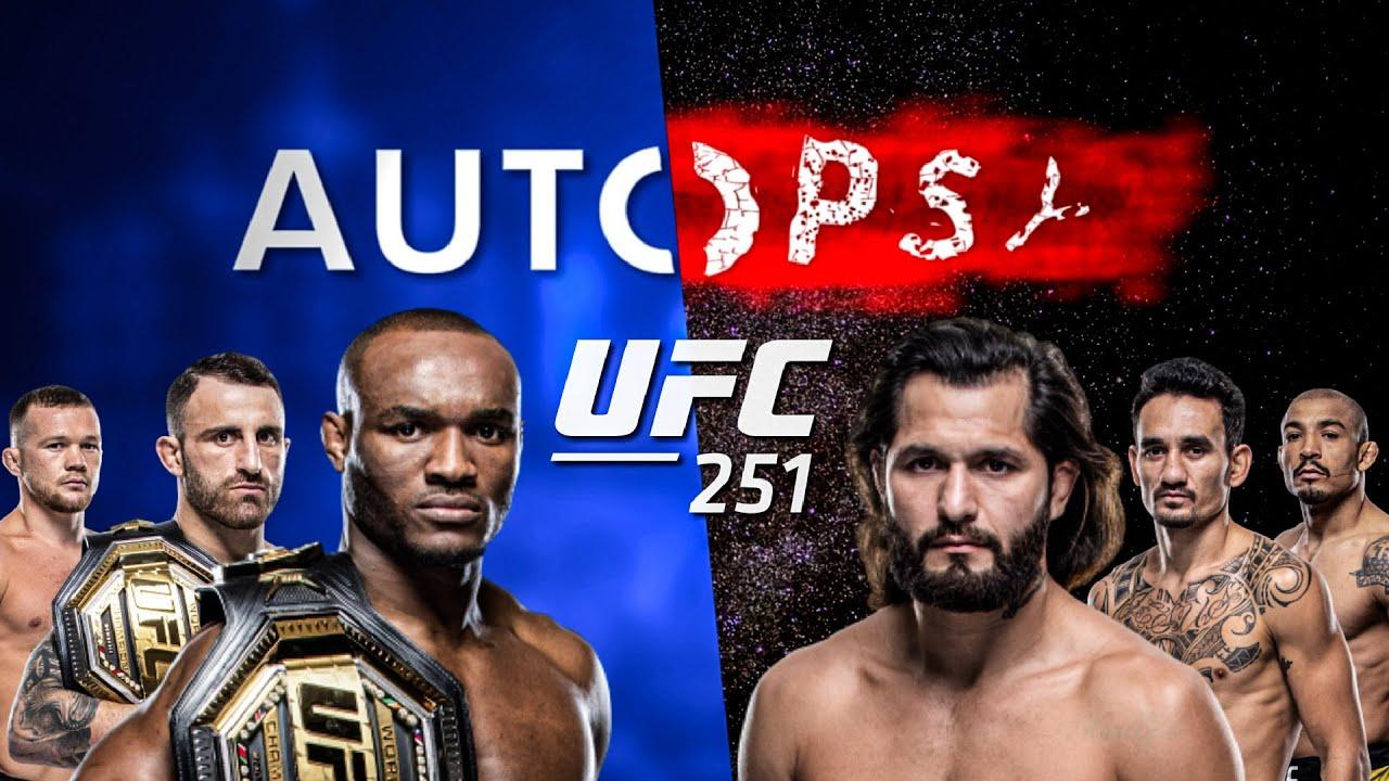 The Autopsy - UFC 251: Kamaru Usman vs Jorge Masvidal, Holloway vs Volkanovski 2, Yan vs Aldo