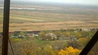 Грузовой поезд близ Аксая