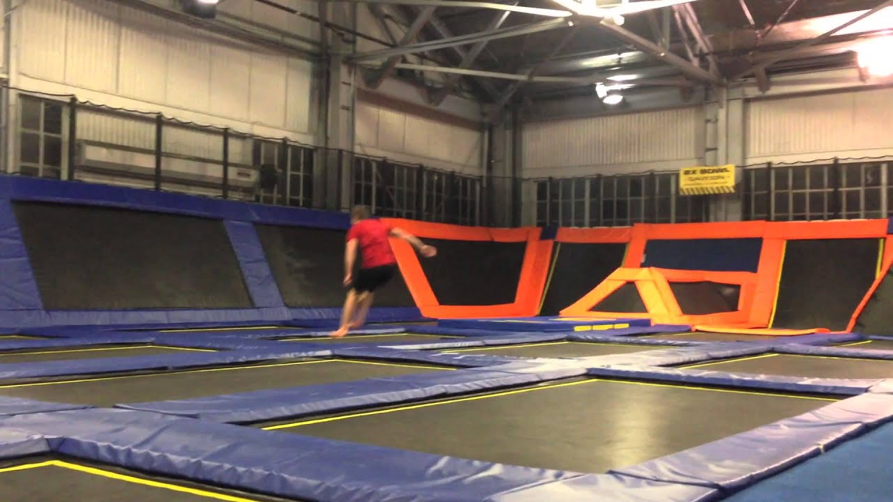 Trampoline room in house - House Of Air Trampoline Park