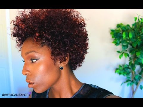 SHOW Amp TELL HUMAN HAIR UNDER 60 CURLY TAPERED AFRO