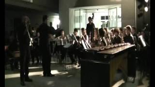 Esecuzione del Concerto per Trombone e Wind Orchestra di Rimsky Korsakov.
