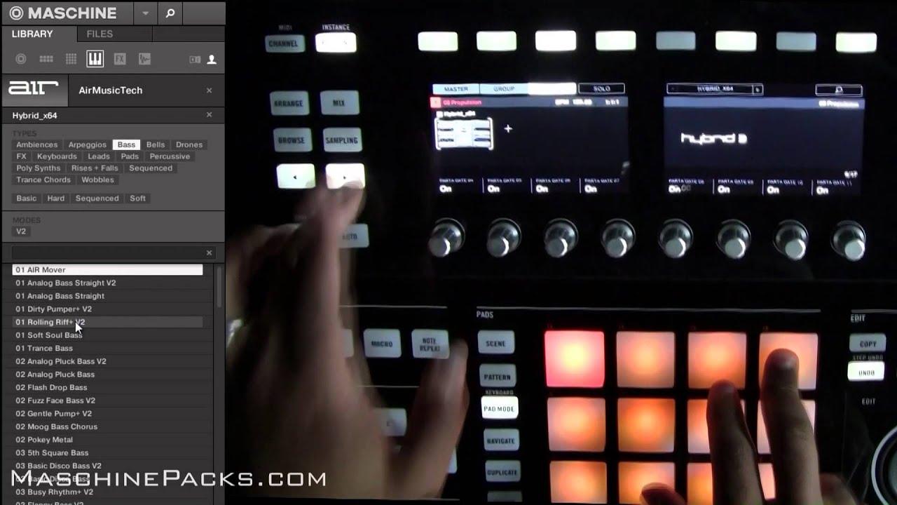Maschine Packs: Hybrid 3 VST Factory Presets for Maschine