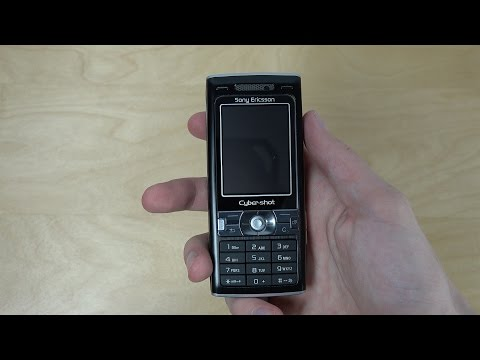 Sony Ericsson K800i - Unboxing (4K)