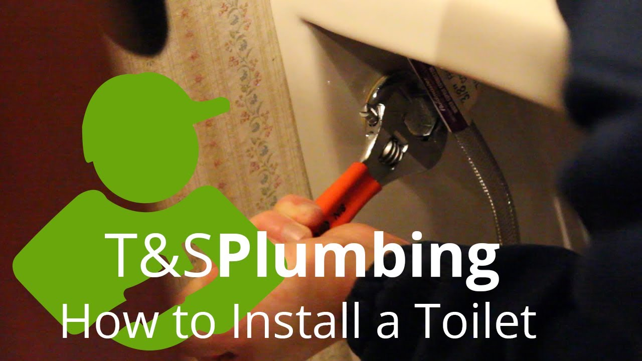 How To Install A Wall Mounted Toilet Youtube