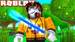 BE THE COOLEST SABER WARRIOR NOW?! -Roblox Indonesia Saber Simulator #1