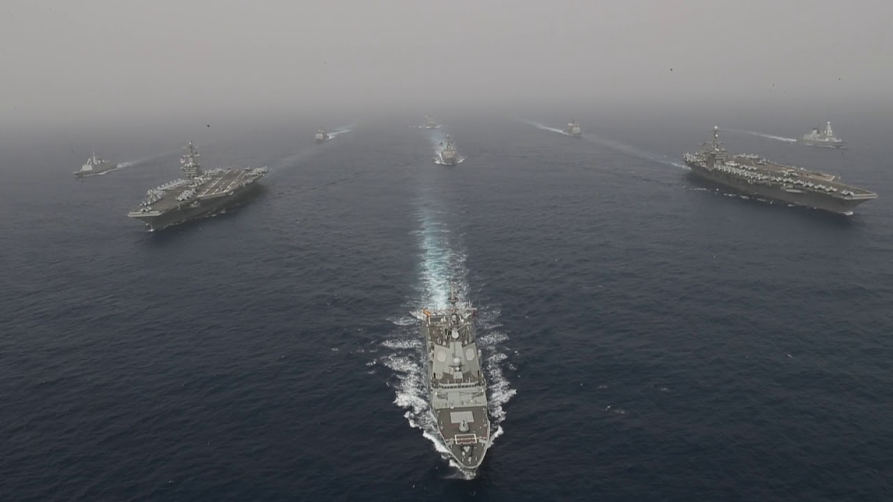 Two U S  Navy Carrier Strike Group Operations in the Mediterranean