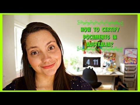 How to certify a document in Australia | Living in Melbourne Ep 027 | Sub Esp