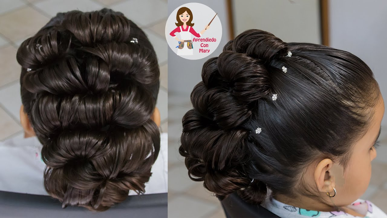 Peinado Para Novia Elegante Y Facil Youtube - Peinados-de-novia-elegantes