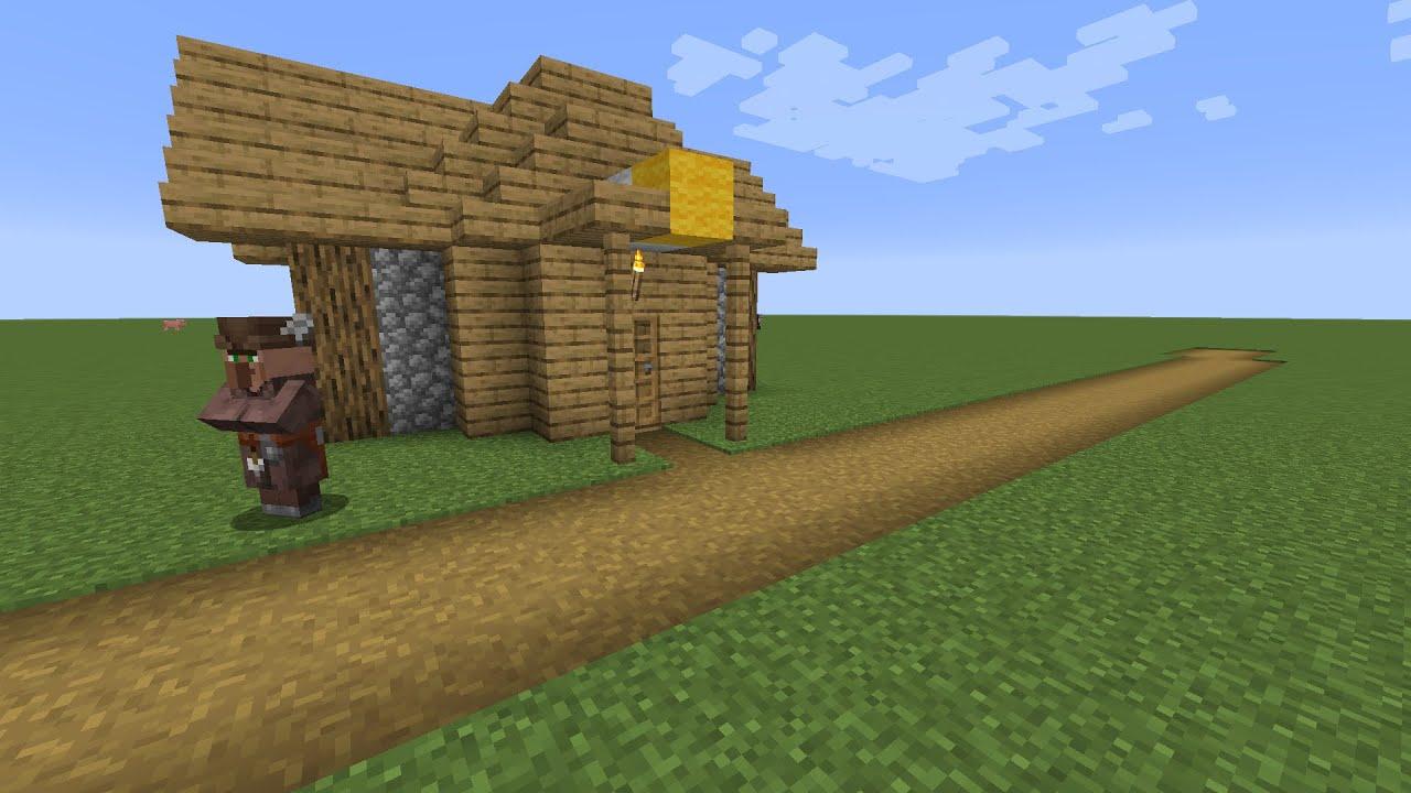 How to build a Minecraft Village Fletcher House (8.84 plains)