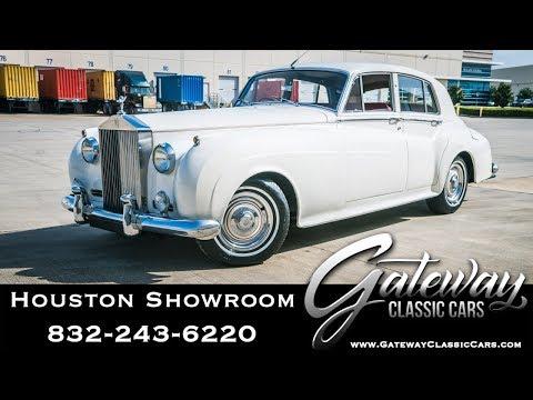 1962 Rolls Royce Silver Cloud II Gateway Classic Cars #1536 Houston Showroom