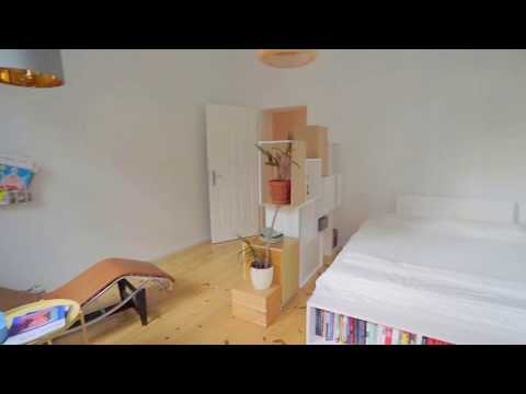 Large 3- Room Furnished Apartment in Berlin, Bergmannstr.