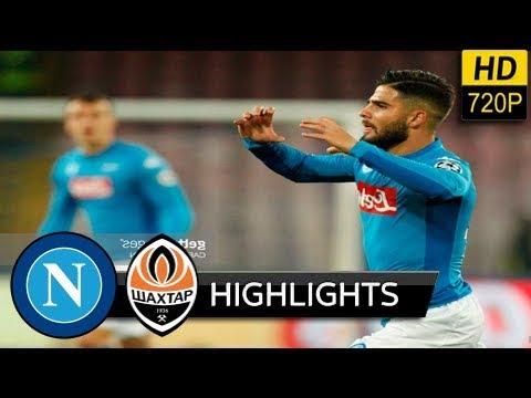 Napoli vs Shakhtar 3-0 - extended Highlights & All Goals (UEFA) 21/11/ 2017 HD