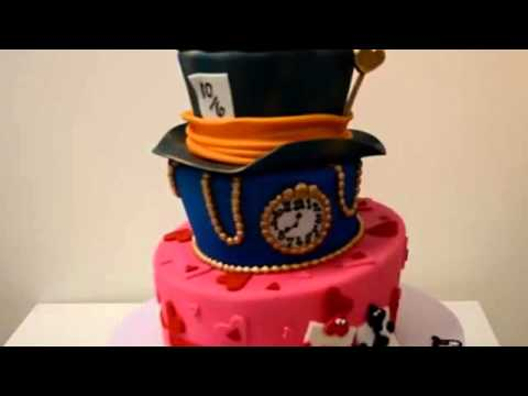 How to make cake Alice and Wonderland cake Custom Cake birthday cake