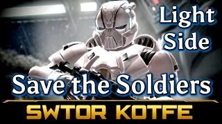 SWTOR KOTFE ► Save the Trapped Soldiers (Chapter 1 Light Side, Knights of the Fallen Empire)