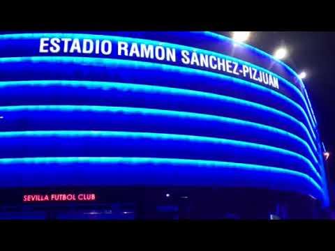 El color de la Champions en el Ramón Sánchez Pizjuán