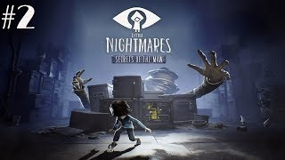 Little Nightmares Secrets of The Maw Chapter 2 ENDING Walkthrough Gameplay Part 2 - The Hideaway