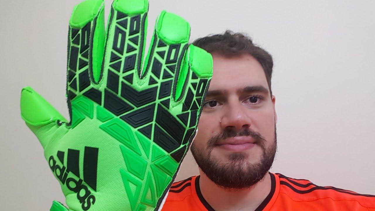 Asistente desvanecerse Elaborar  Pré Análise Luva Adidas Ace Trans Fingertip Unboxing Goalkeeper Gloves  Review - YouTube