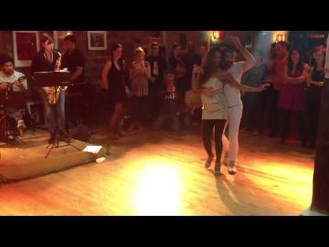 Wellington Lopes & Sheila Aquino Maxixe (ancestor of Samba Gafieira) - Paris 2013-01-05