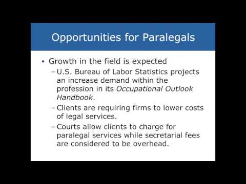 Chapter 1 Intro to Paralegal Studies