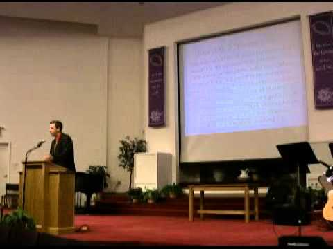 Holden Christian Academy Graduation Keynote Speech 2010
