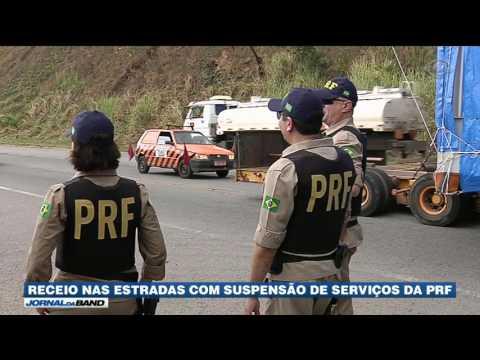 Suspensão de serviços da PRF causa medo nas estradas