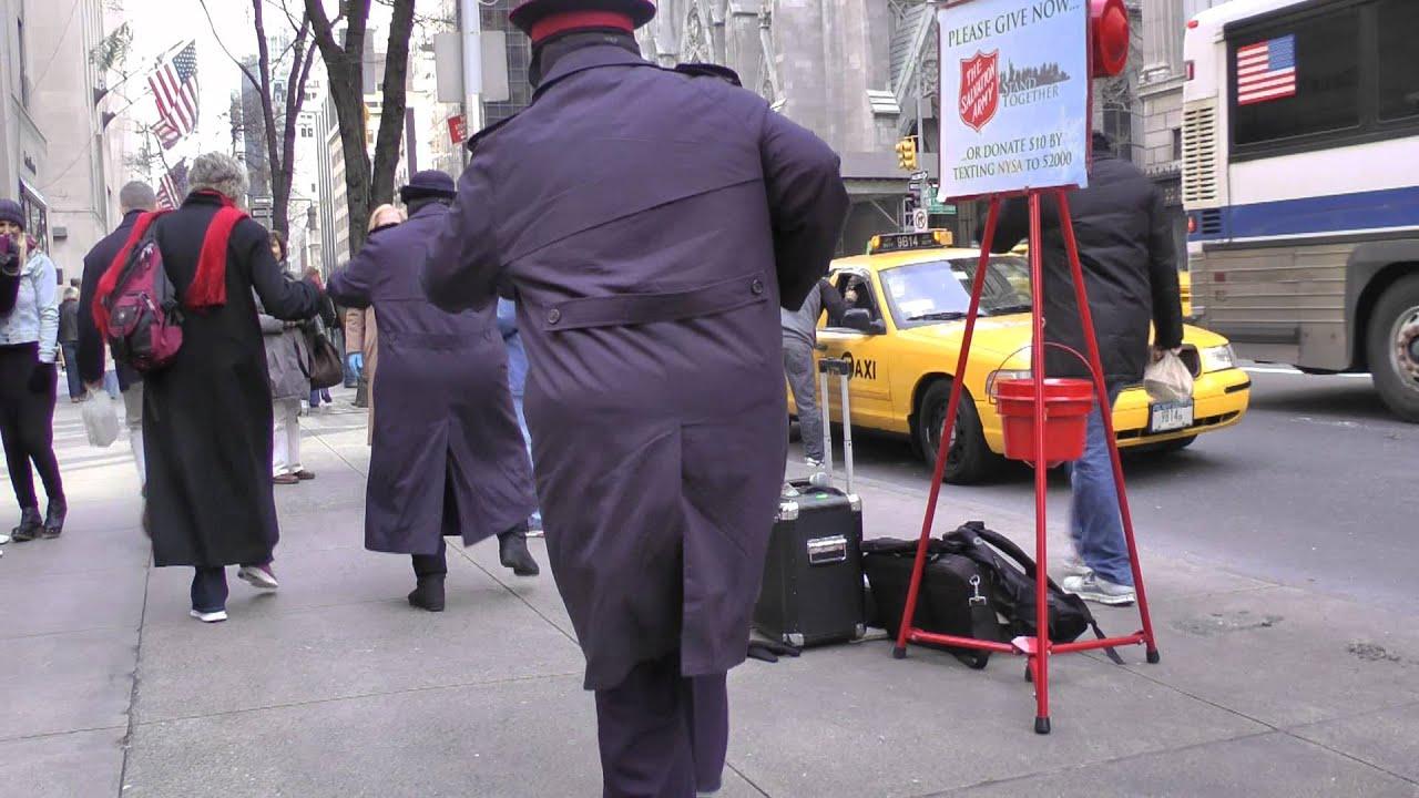 Jingle Bell Rock City Street Christmas Music NYC 12-09-2011 - YouTube