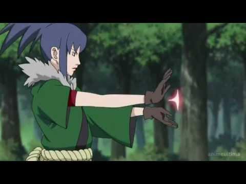 "Naruto Shippuden techniques,Guren ""Crystal Element ..."