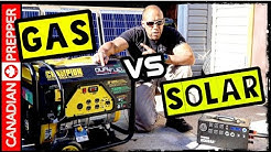 Solar Vs Gas Generators for Prepping and Survival | Inergy Apex