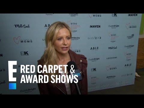 Sarah Michelle Gellar Compares Slaying Vampires to Raising Kids  E! Red Carpet & Award s