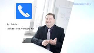 Michael Thoss, Vorstand des KH IT: IT-Sicherheit in deutschen Kliniken