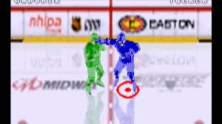 NHL Hitz 2003 (GBA) gameplay