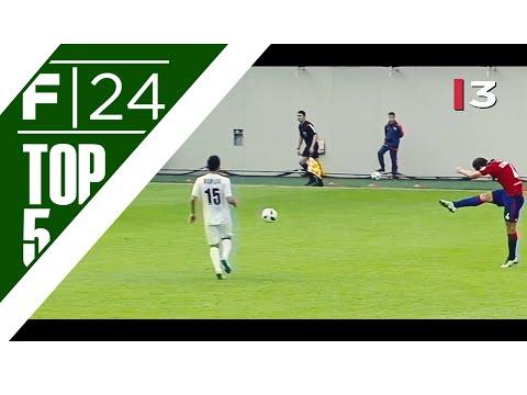 Russian Premier League: Top 5 Goals - April