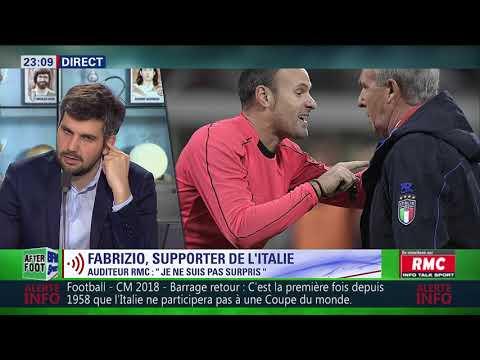 After Foot du lundi 13/11 – Partie 4/6 - Débrief d'Italie/Suède (0-0)