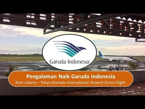 Pengalaman Naik Garuda Indonesia Rute Jakarta - Tokyo (Direct Flight)