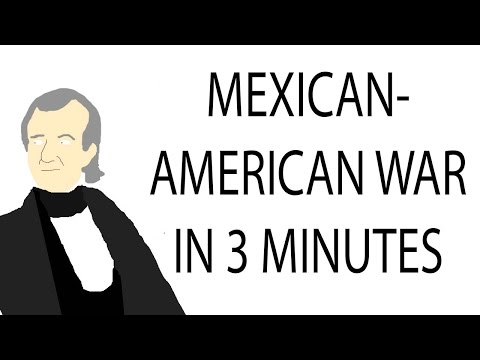 Mexican-American War | 3 Minute History